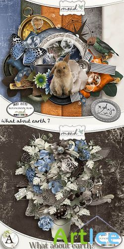 Scrap - What About Earth PNG and JPG Set 1