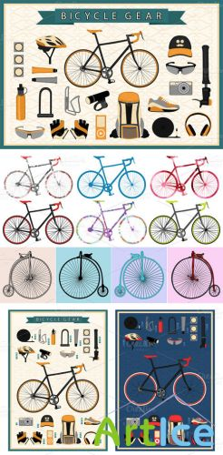 CreativeMarket - Bike Gear