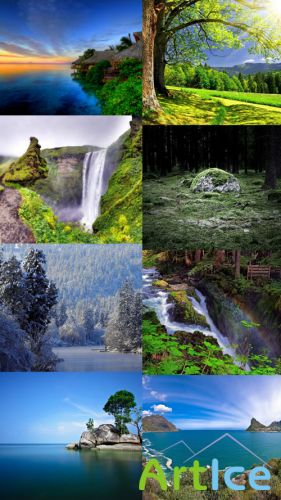 Beautiful Wallpapers of Nature Pack 23