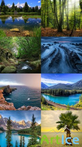 Beautiful Wallpapers of Nature Pack 25