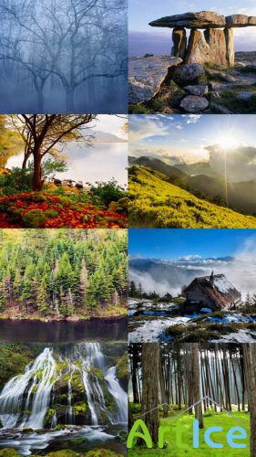 Beautiful Wallpapers of Nature Pack 26