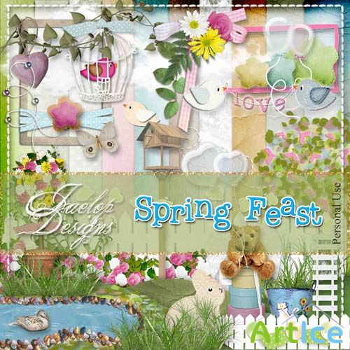 Scrap - Spring Feast PNG and JPG