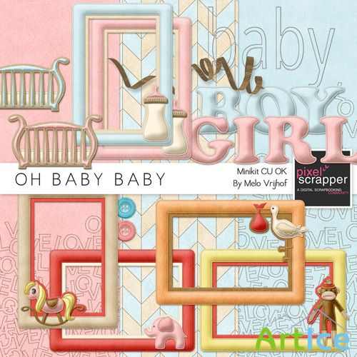 Oh Baby Baby Scrap JPG and PNG 3
