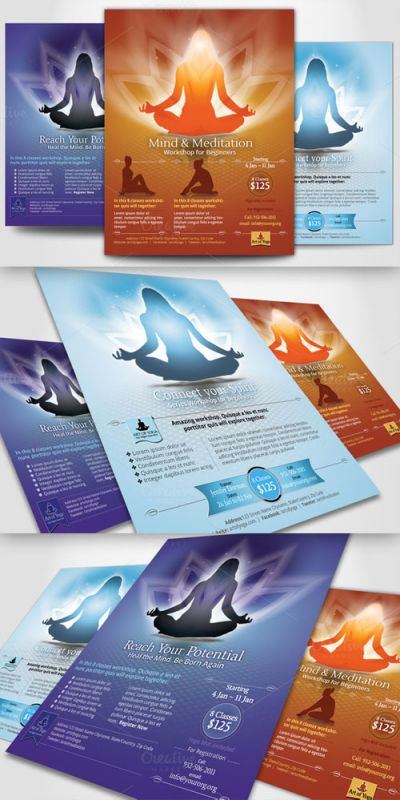 CreativeMarket - Simple Flyer Template 21597
