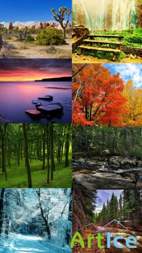 Beautiful Wallpapers of Nature Pack 27