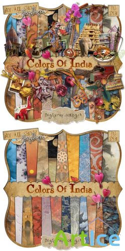 Scrap - Colors of India PNG and JPG