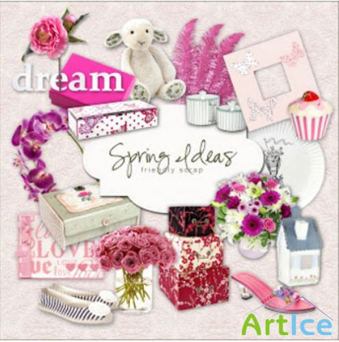 Spring Ideas PNG Files