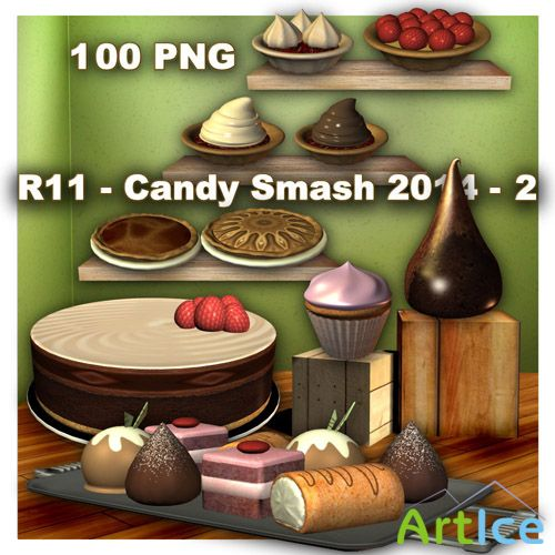 Candy Smash - 2 PNG Files