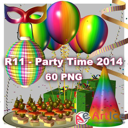 Party Time 2014 PNG Files