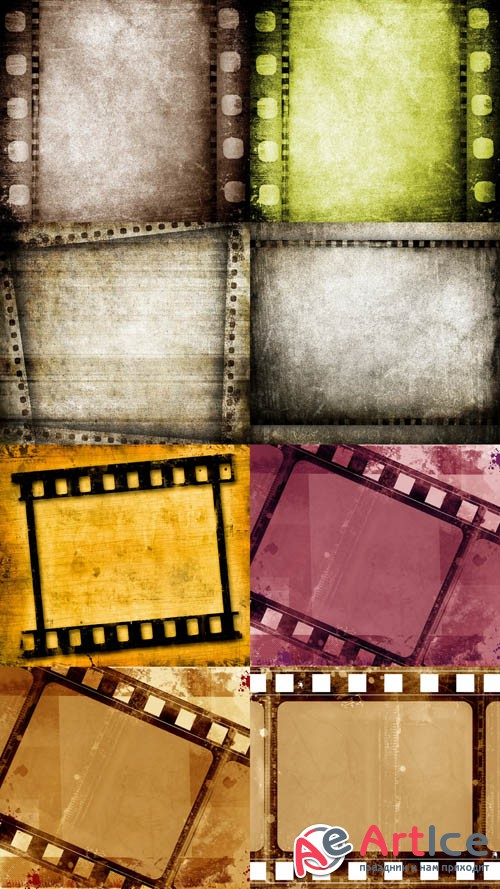 Old Film Textures JPG Files