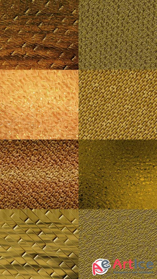 Noble Gold Textures JPG Files Set 2