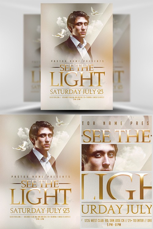 Flyer Template - See The Light