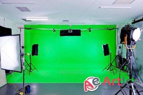 PhotoDune Green Screen Studio 3889454