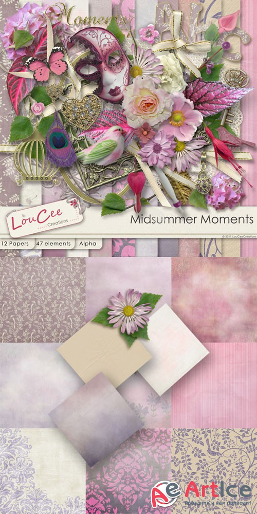 Scrap - Midsummer Moments PNG and JPG