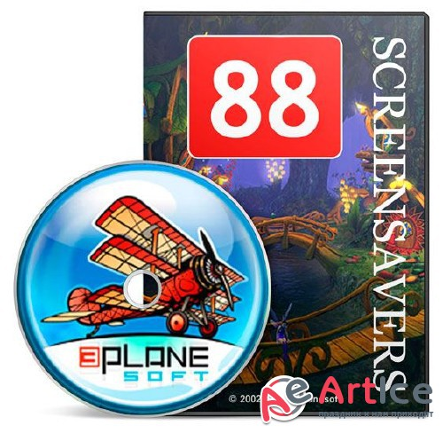 3Planesoft 3D Screensavers All in One 88 RePack by shurfic (ENG|RUS)