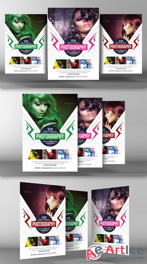 Photography Flyer Template - CM 94068