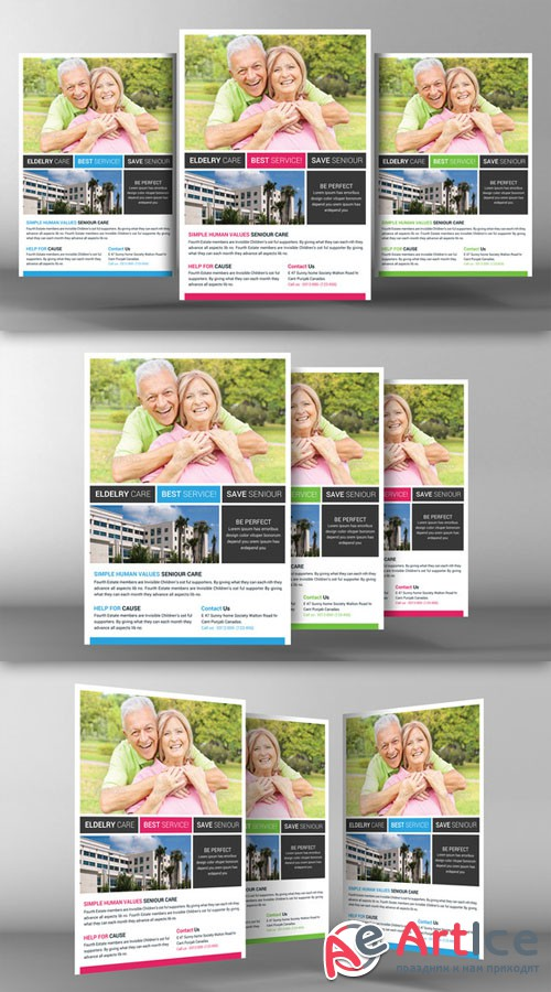 Senior Care Flyer Template - CM 94106