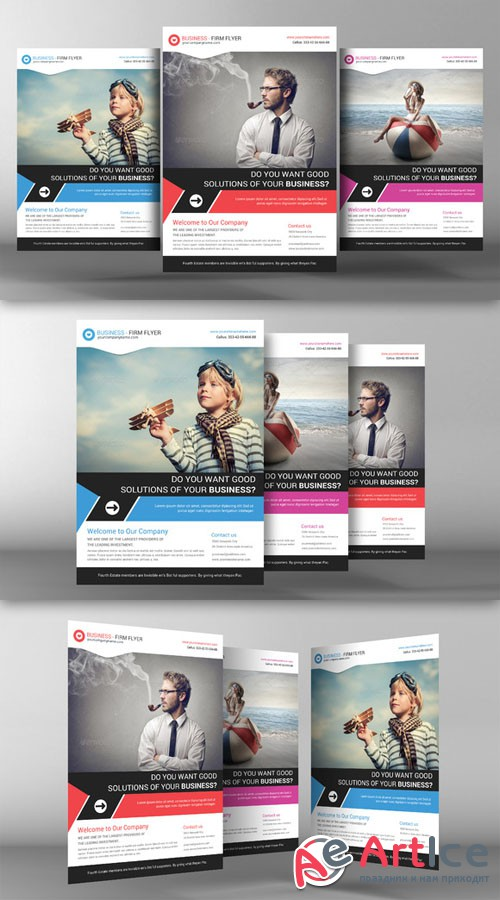 Corporate Business Flyer Template - CM 96395