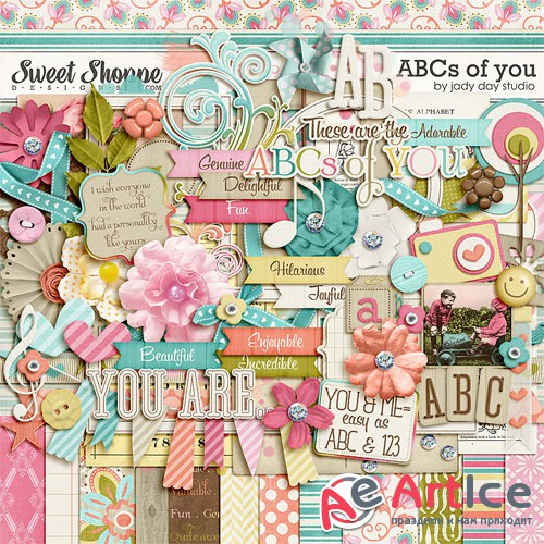 Scrap - The ABC's Of You JPG and PNG