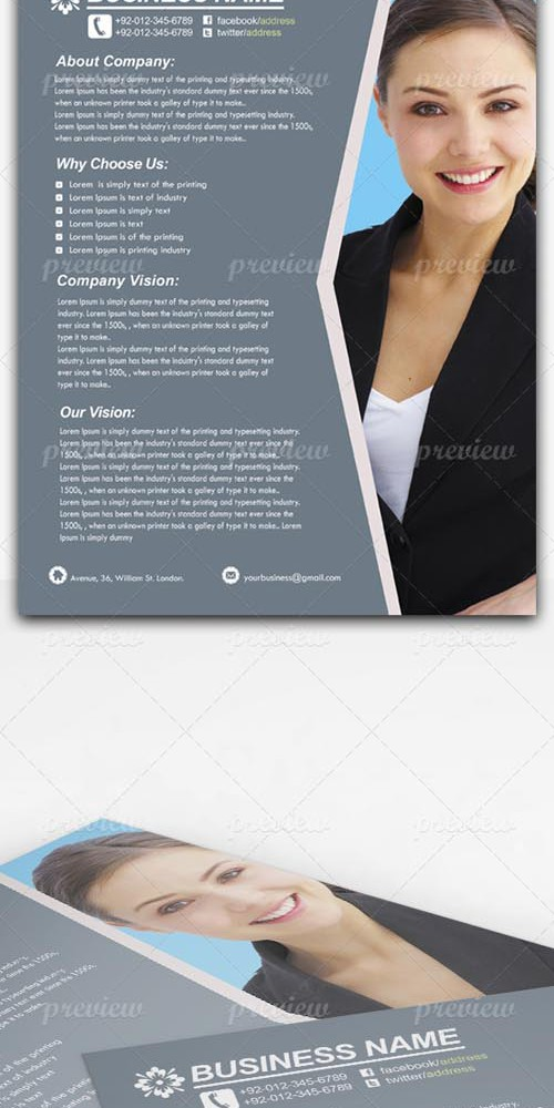 PSD - Corporate Business Flyer 2806