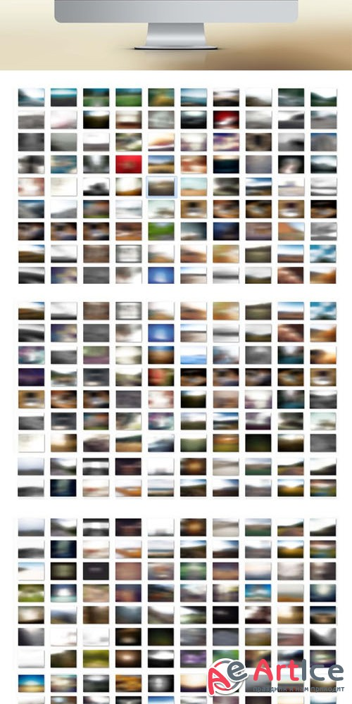 80+ Premium Blurred Backgrounds - Creativemarket 6490