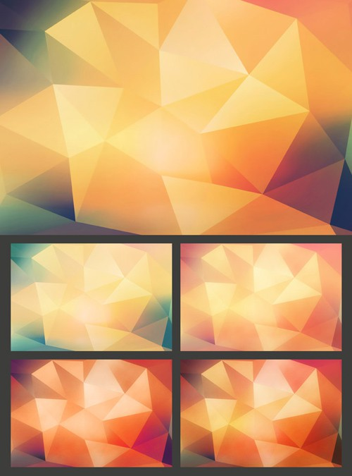 5 Polygon Backgrounds