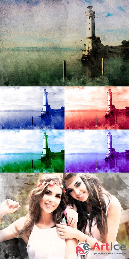 Graphicriver - Watercolor It 10795717