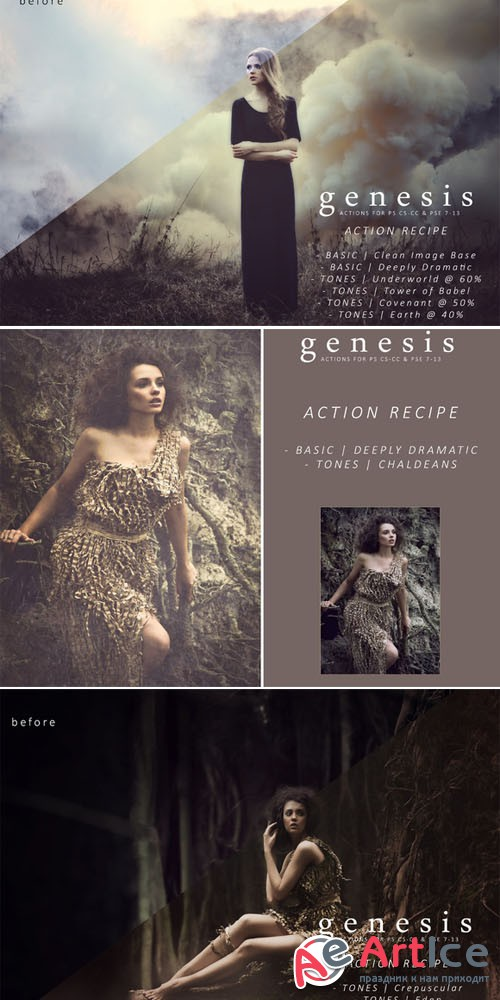 Genesis Action Collection - Creativemarket 280104