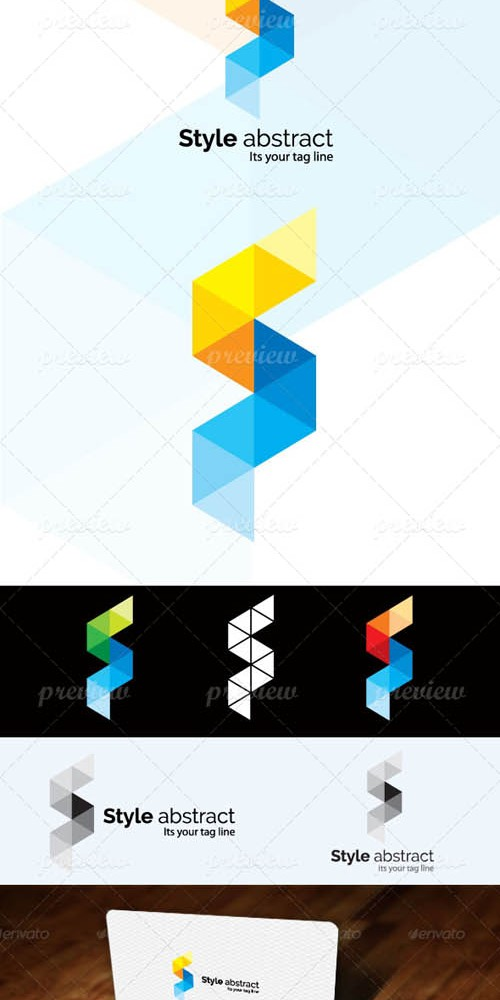 Vector Style Abstract Logo