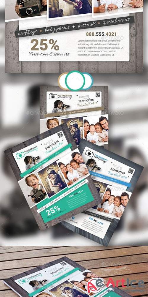 Photography Business Flyer 15 - Graphicriver 10586271