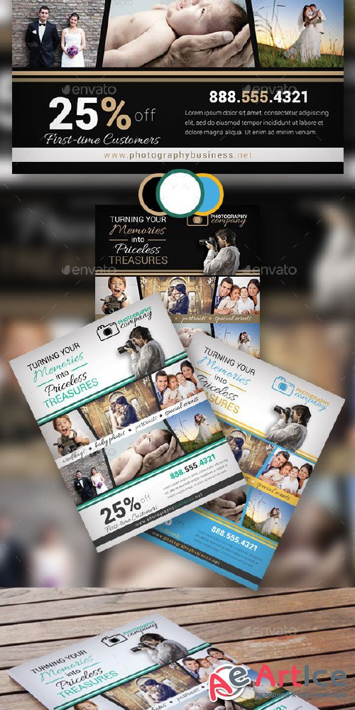 Photography Business Flyer 13 - Graphicriver 9488495