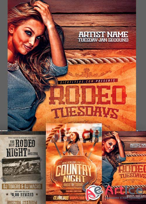 Country Western Flyer Bundle part 2