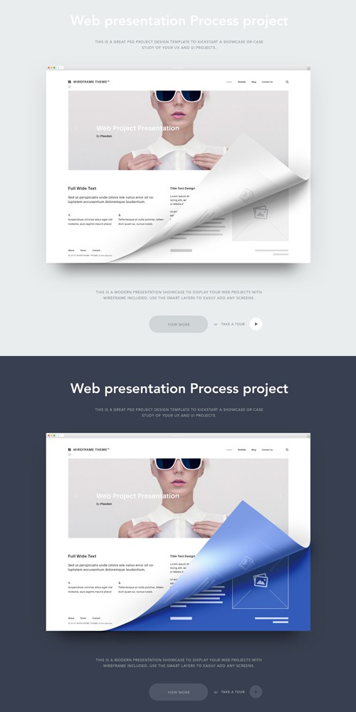 Web Project Presentation PSD