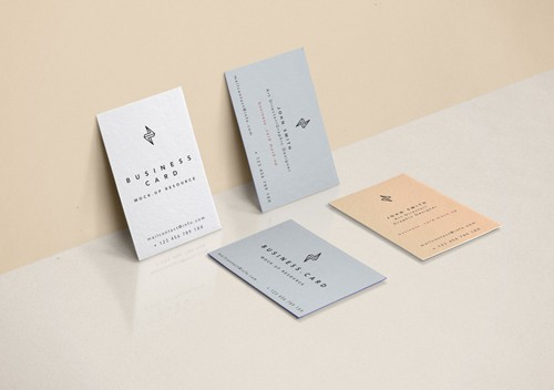 Business Card Mock-Up Vol 32 PSD