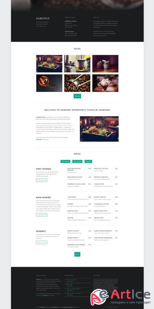 Auberge Plus | WordPress Theme v1.4.9 - Creativemarket 136756