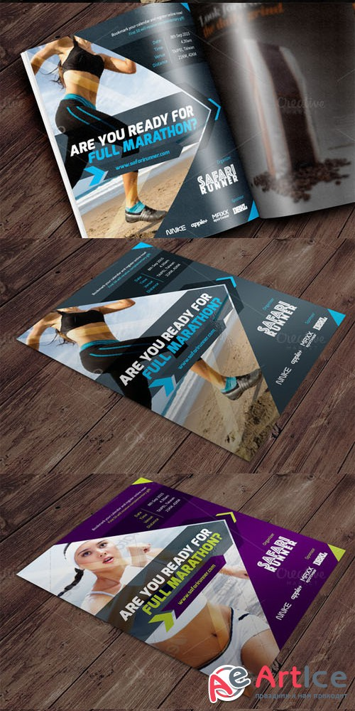 Event Flyer Vol.02 - Creativemarket 313732