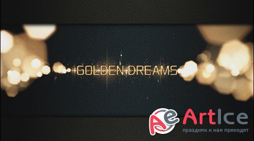 GOLDEN DREAMS sony vegas project
