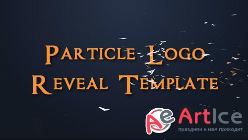 Particles Logo Reveal Template for Sony Vegas 12 & 13