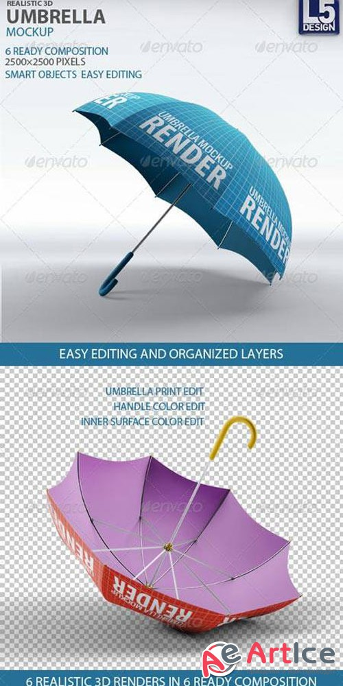 Umbrella Mock-Up 837293