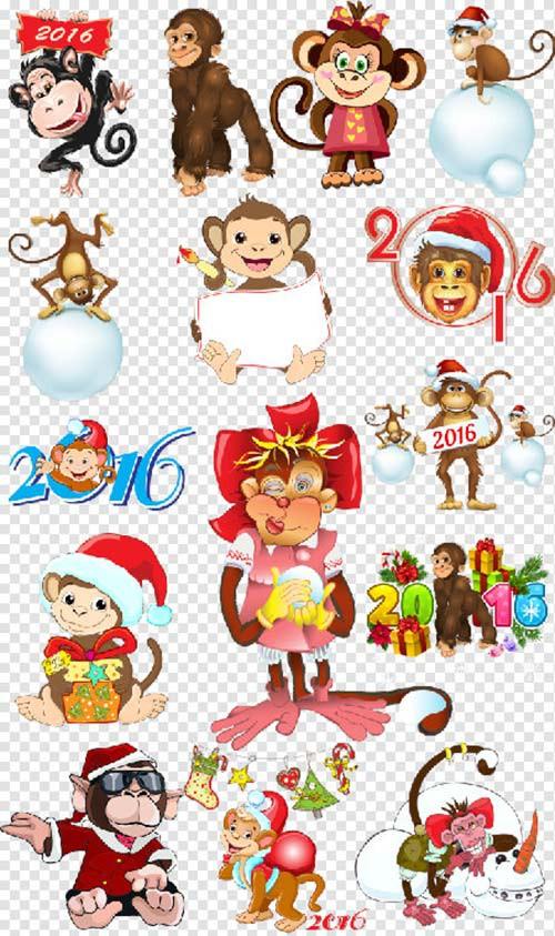 Клипарты новогодняя поделки для фотошопа