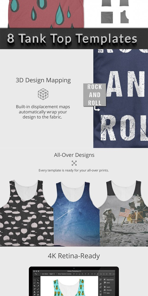 Tank Top - Apparel Mockups 284875