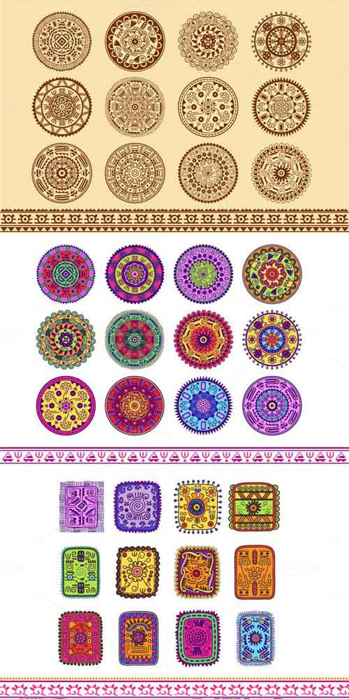 Ethnic Ornament Pack 305153