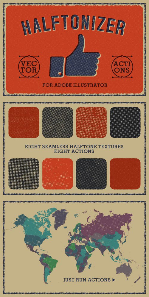 Halftonizer - Vector Texture Actions 321612