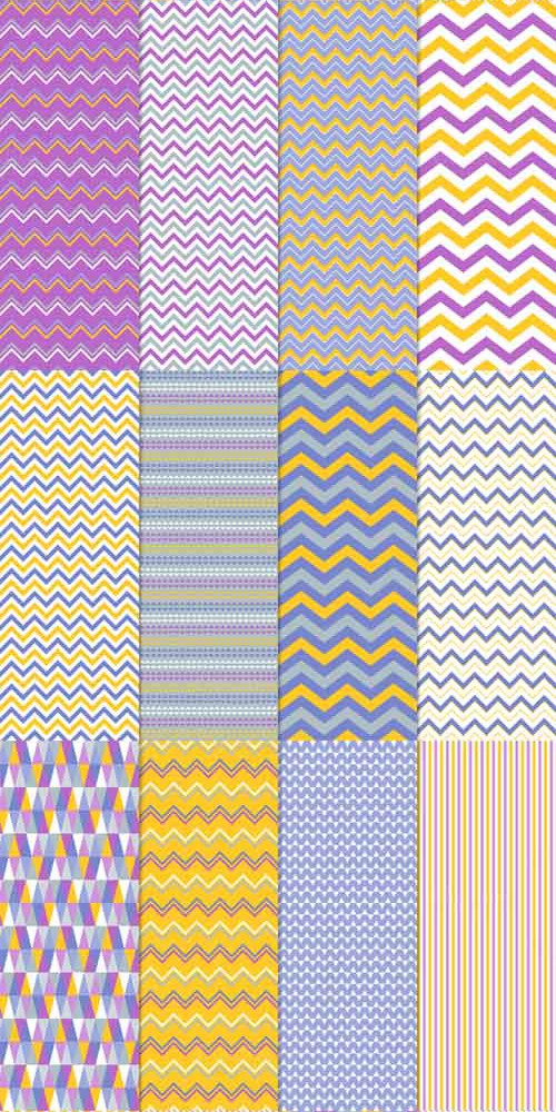 16 Vector Seamless Patterns (set 1) 407663 (Creativemarket)