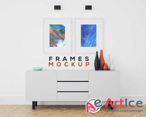 Double Frame Mock-up Template