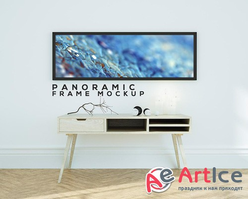Panoramic Frame Mock-up