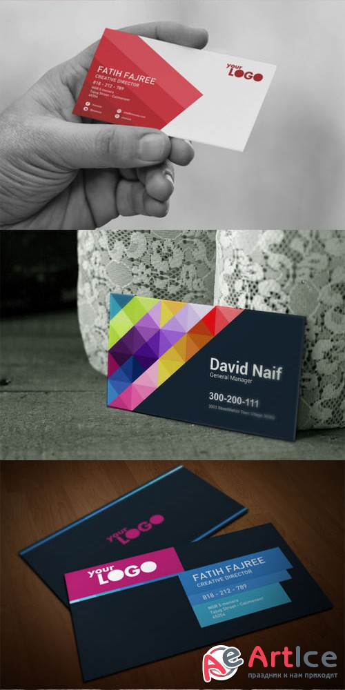 Business Card Templates - Creativemarket 207572
