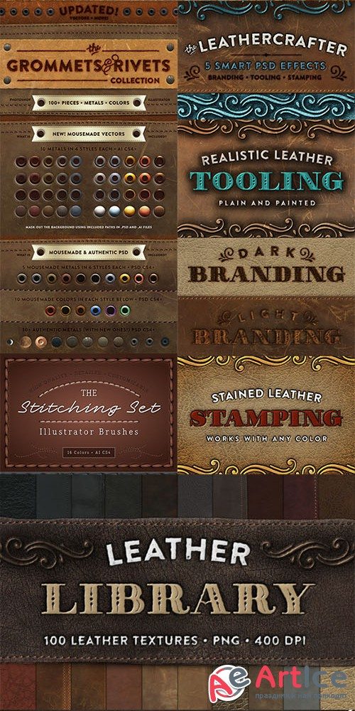 Leathercrafter's Studio - Creativemarket 185600