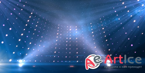 Videohive Blue Revolving Stage 7764198