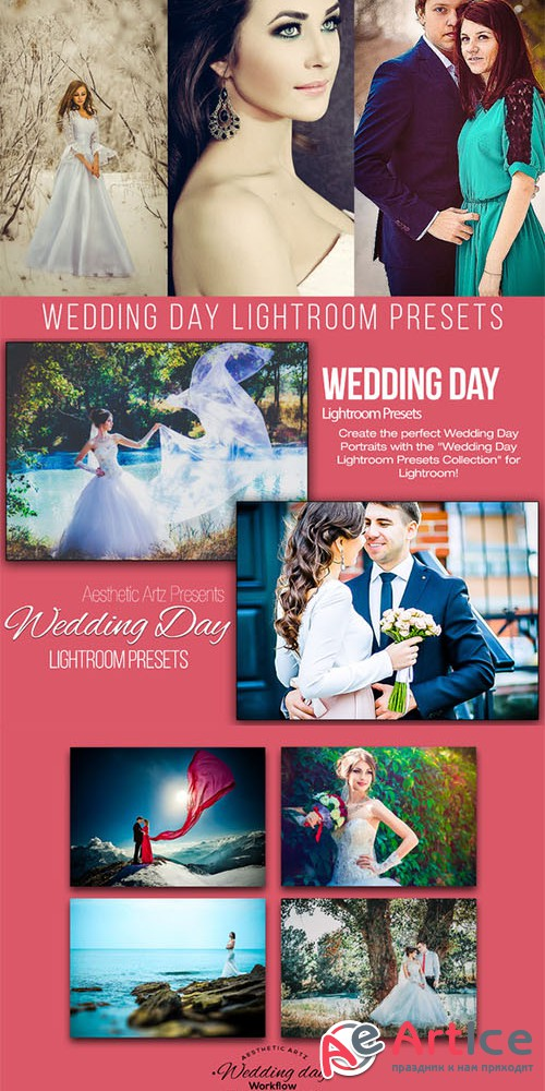 Wedding Day Lightroom Workflow - Creativemarket 401948